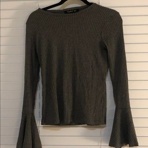 Bell sleeve top/sweater